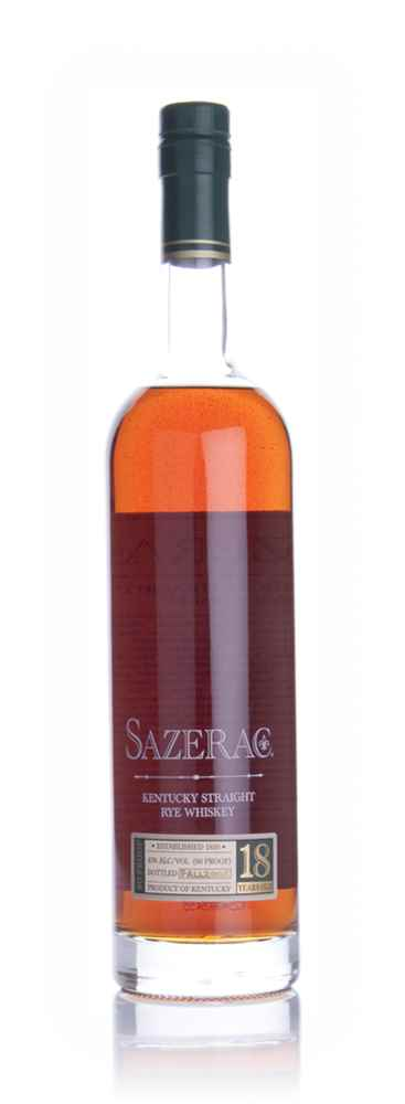 Sazerac Straight Rye 18 Year Old Whiskey (Fall 2009)