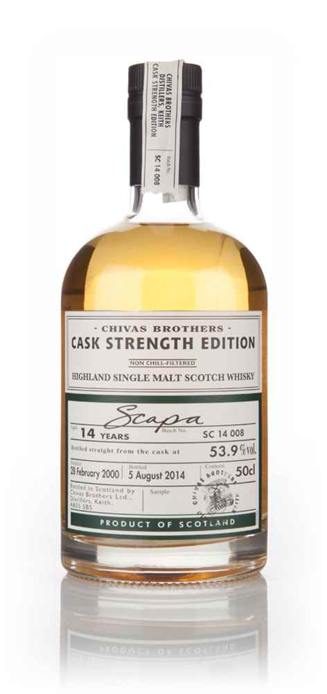 Scapa 14 Year Old 2000 - Cask Strength Edition (Chivas Brothers)