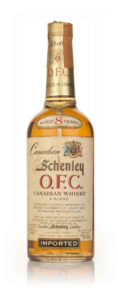 Schenley O.F.C. 8 Year Old Canadian Whisky - 1970s
