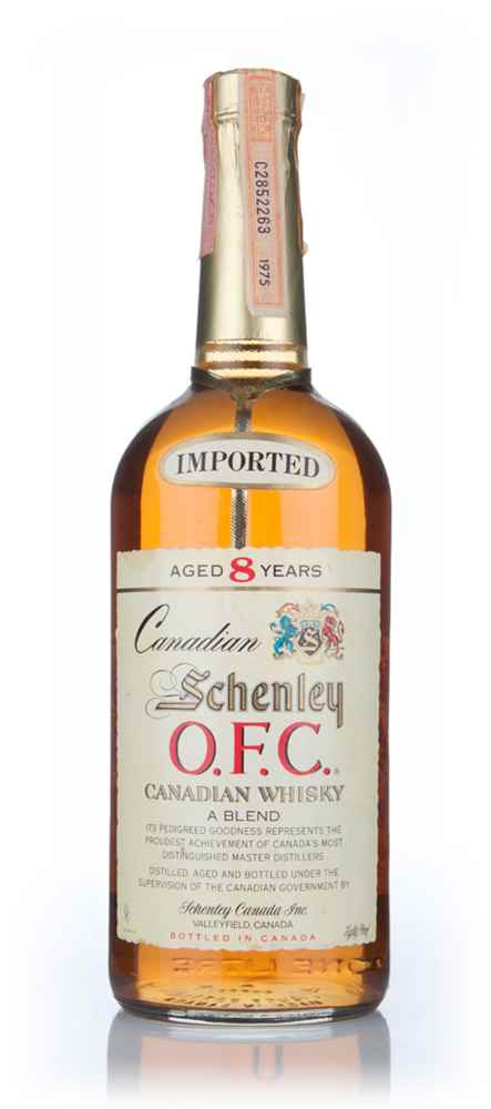 Schenley O.F.C. 8 Year Old Canadian Whisky - 1983