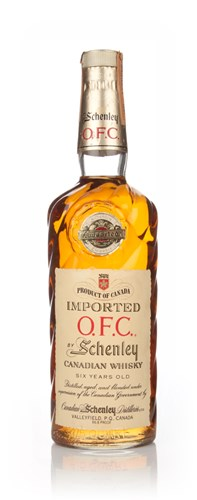 Schenley O.F.C. Canadian Whisky - 1961