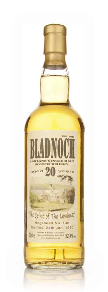 Bladnoch 20 Year Old 1990 (cask 136)
