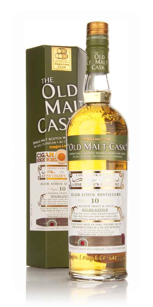 Blair Athol 10 Year Old Cigar Malt - Old Malt Cask (Douglas Laing)