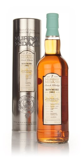 Bowmore 7 Year Old 2002 (Murray McDavid)