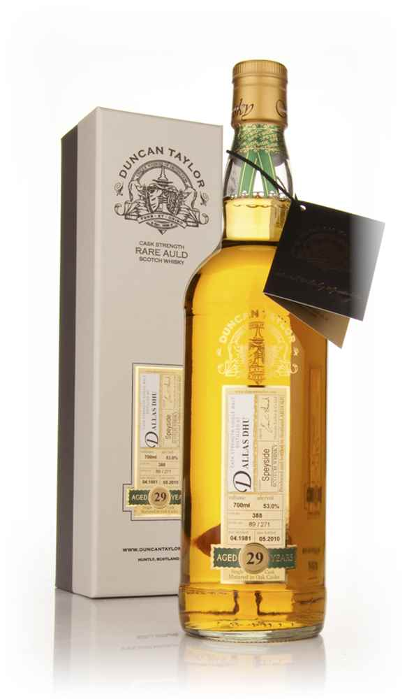 Dallas Dhu 29 Year Old 1981 - Rare Auld (Duncan Taylor)
