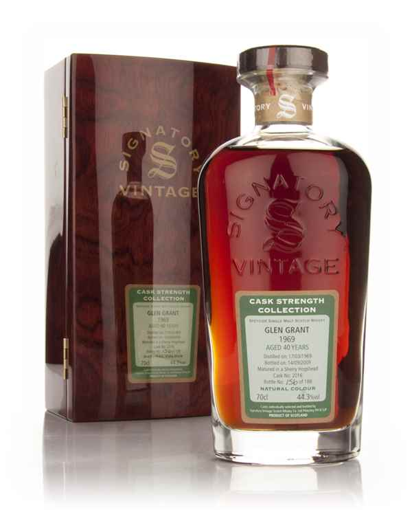 Glen Grant 40 Year Old 1969 - Cask Strength Collection (Signatory)
