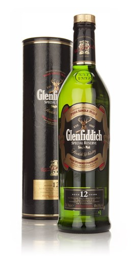 Glenfiddich 12 Year Old Special Reserve (Old Bottle)
