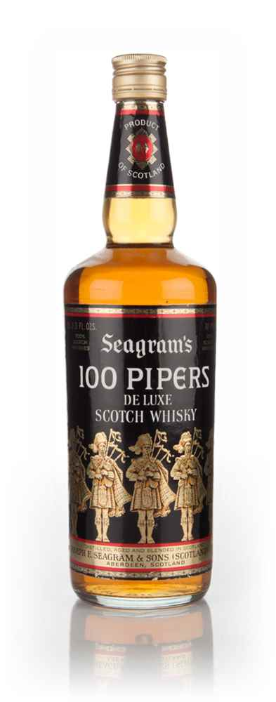 Seagram's 100 Pipers - 1970s