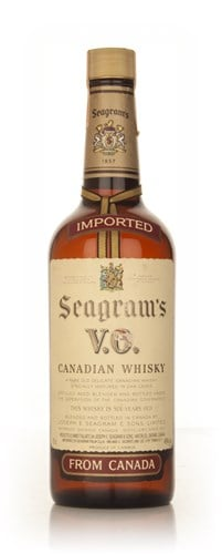 Seagram's V.O. 6 Year Old Canadian Whisky - 1979