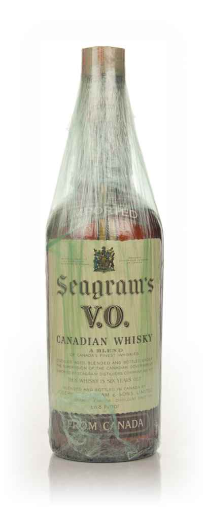 Seagram's V.O. 6 Year Old Canadian Whisky - 1970