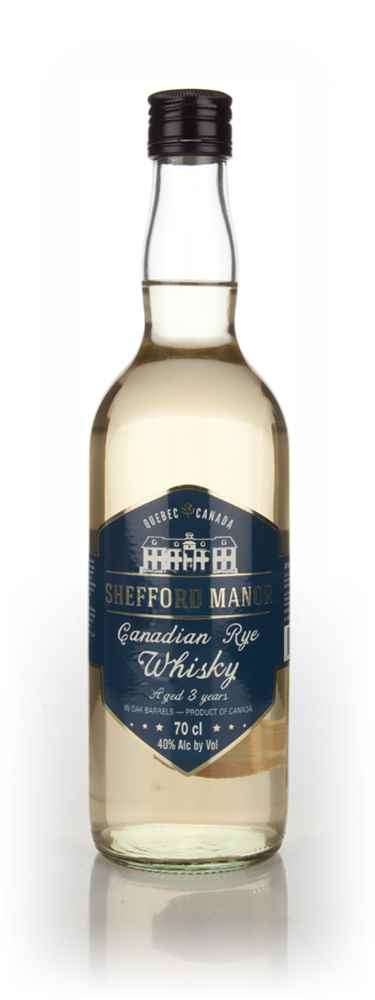 Shefford Manor 3 Year Old Canadian Rye