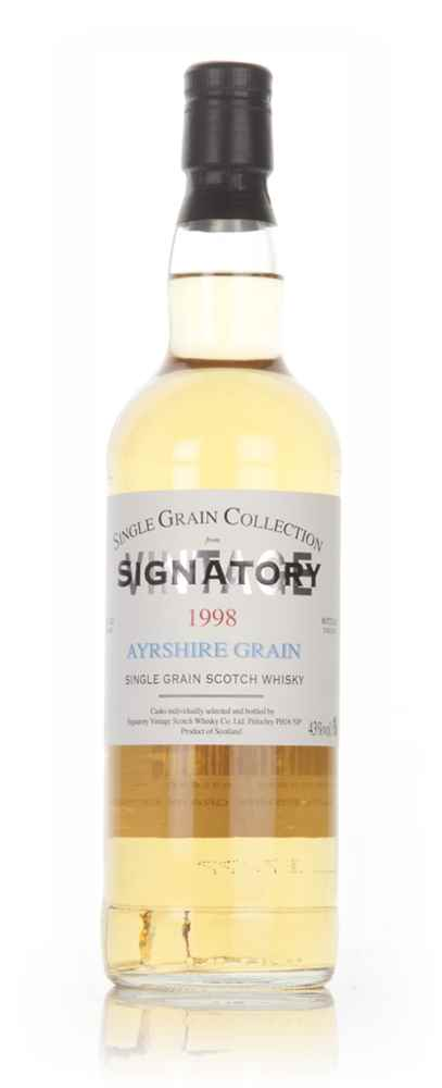 Ayrshire 18 Year Old 1998 - Single Grain Collection (Signatory)