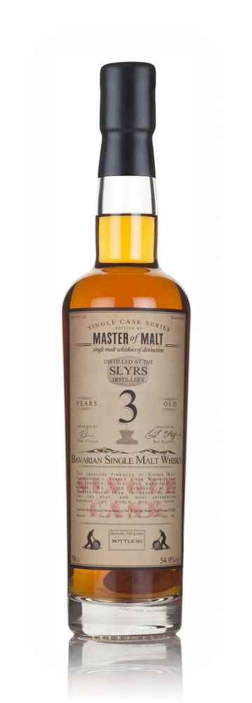 Slyrs 3 Year Old 2013 - Single Cask (Master of Malt)