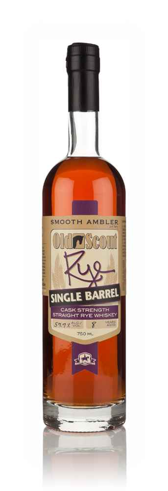 Smooth Ambler Old Scout 8 Year Old  Rye (cask 1361) Single Barrel Release