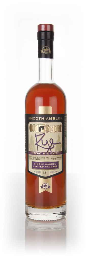 Smooth Ambler Old Scout 9 Year Old Rye (cask 1362) Single Barrel Release