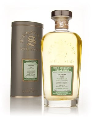 Speyburn 26 Year Old 1980 Cask 110 - Cask Strength Collection (Signatory)