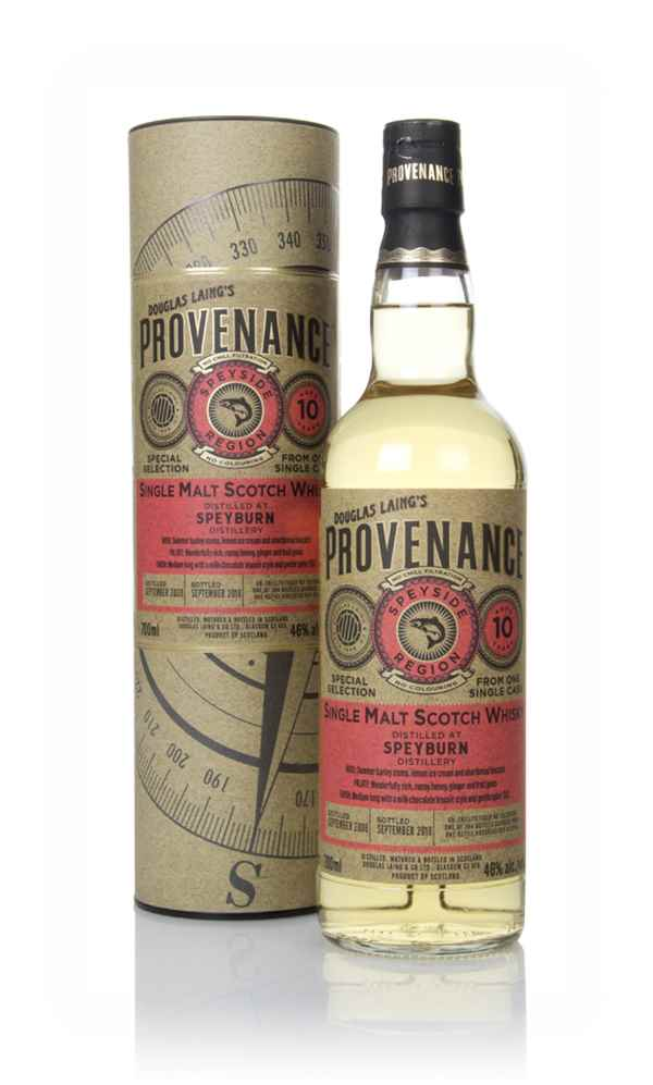 Speyburn 10 Year Old 2008 (cask 12764) - Provenance (Douglas Laing)