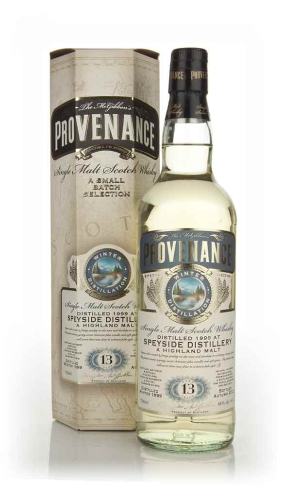 Speyside 13 Year Old 1999 (cask 9215) - Provenance (Douglas Laing)