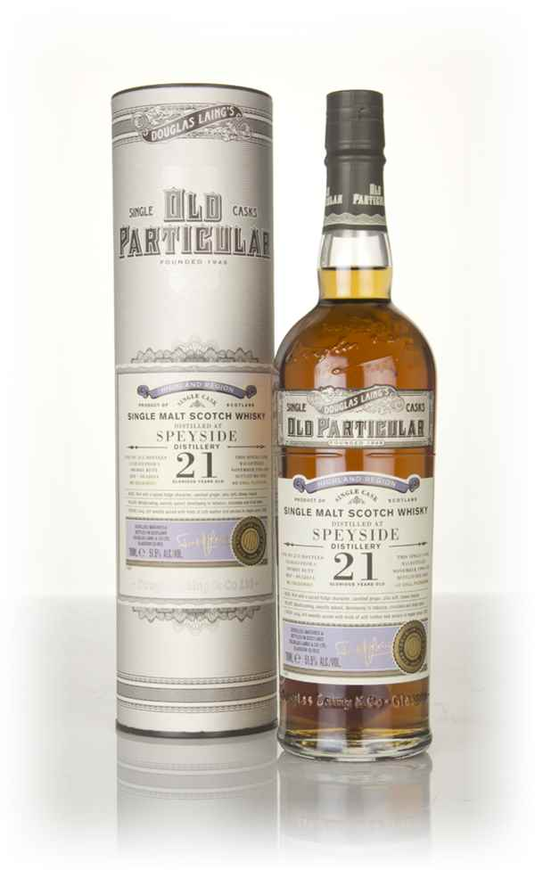 Speyside 21 Year Old 1996 (cask 12614) - Old Particular (Douglas Laing)