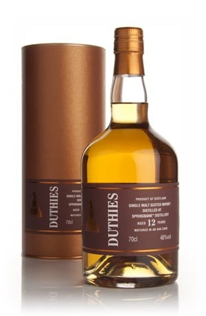 Springbank 12 Year Old - Duthies (WM Cadenhead)