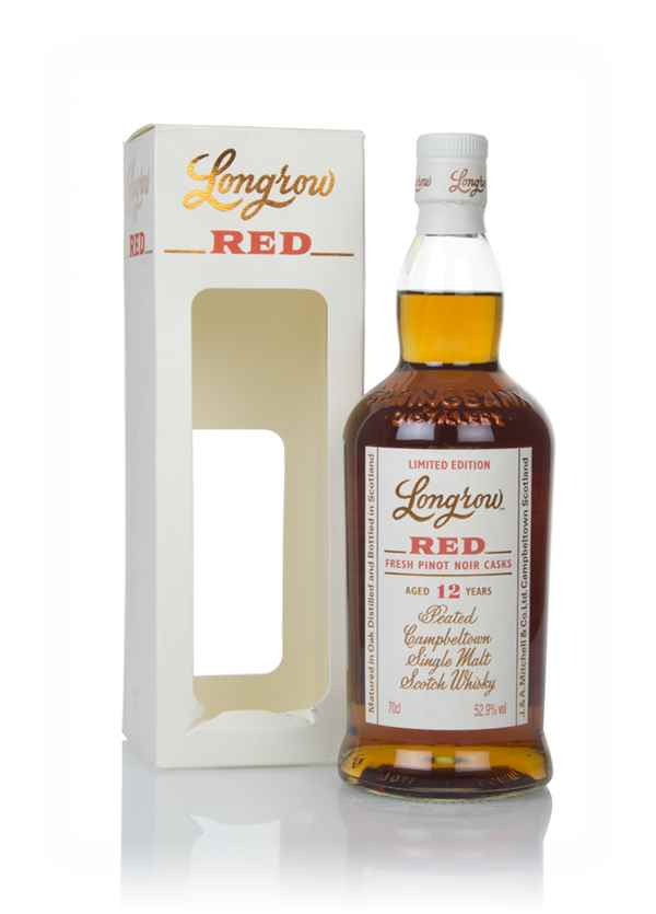 Longrow Red 12 Year Old - Fresh Pinot Noir Cask Finish