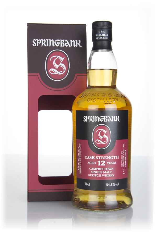 Springbank 12 Year Old Cask Strength - 54.8%