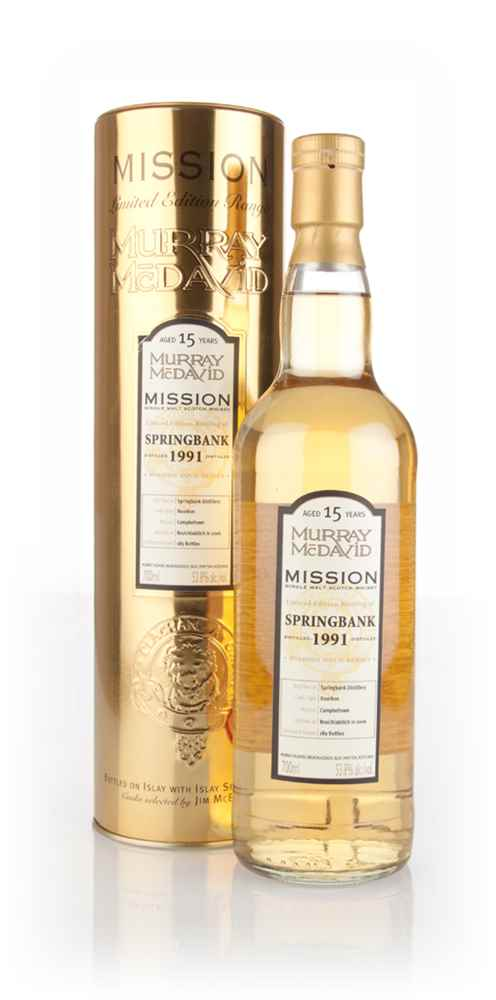 Springbank 15 Year Old 1991 - Mission Gold (Murray McDavid)