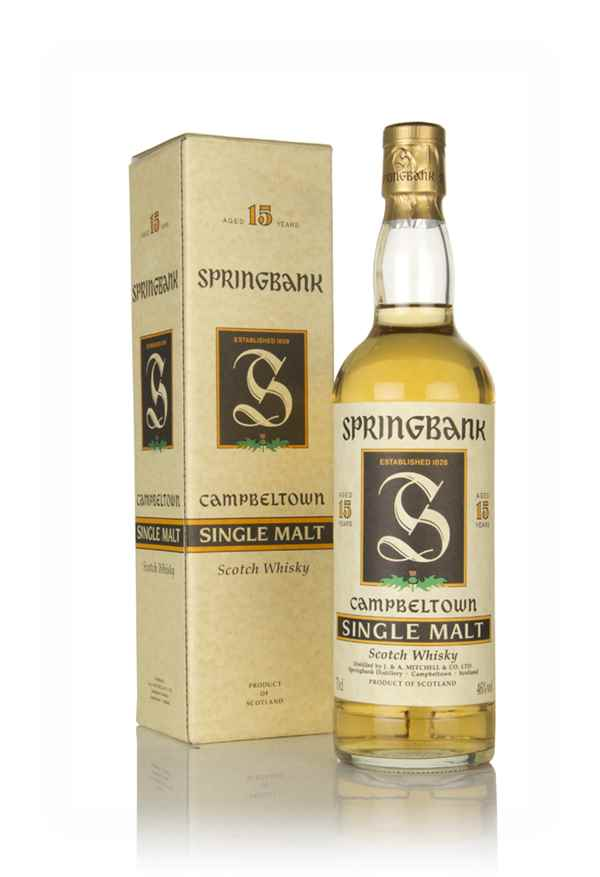 Springbank 15 Year Old - Green Thistle