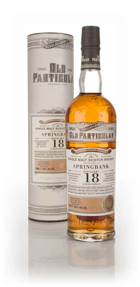 Springbank 18 Year Old 1996 (cask 10737) - Old Particular (Douglas Laing)