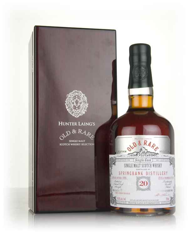Springbank 20 Year Old 1996 - Old & Rare Platinum (Hunter Laing)