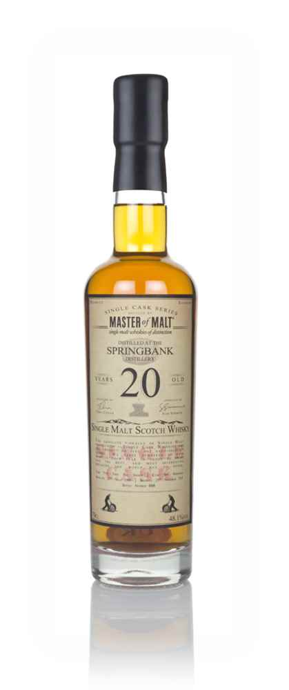 Springbank 20 Year Old 1998 - Single Cask (Master of Malt)
