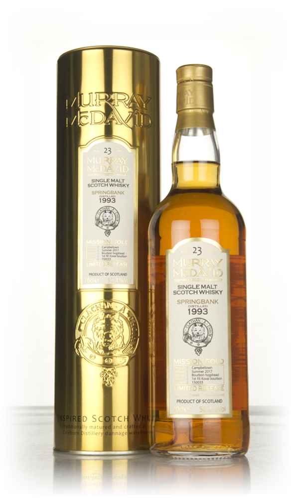 Springbank 23 Year Old 1993 (cask 150033) - Mission Gold (Murray McDavid)