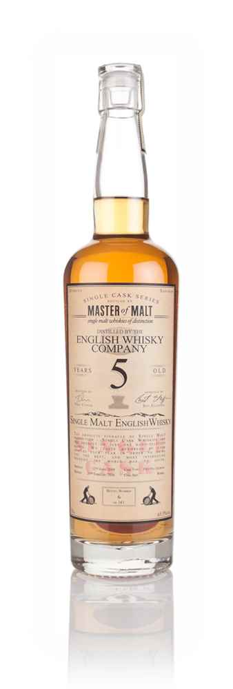 English Whisky Co. 5 Year Old 2010 - Single Cask (Master of Malt)