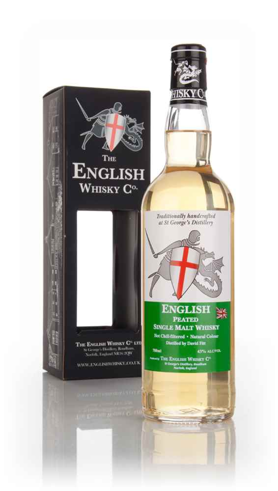 English Whisky Co. Peated Single Malt Whisky