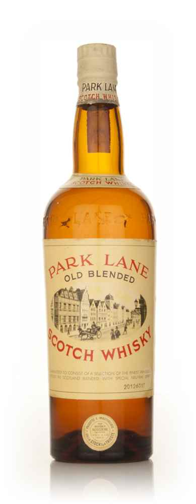 Park Lane Old Blended Scotch Whisky - 1960s