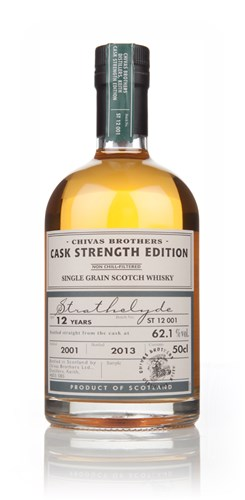 Strathclyde 12 Year Old 2001 - Cask Strength Edition (Chivas Brothers)