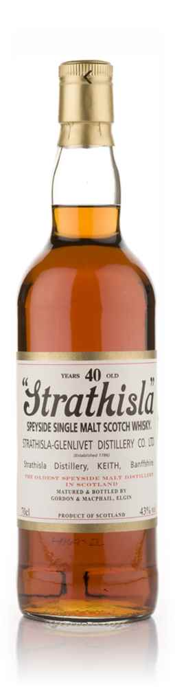 Strathisla 40 Year Old (Gordon and MacPhail)