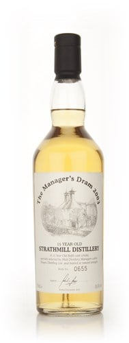 Strathmill 15 Year Old - The Manager's Dram 2003