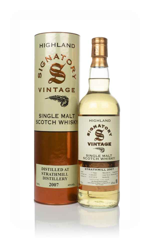 Strathmill 11 Year Old 2007 (casks 805458 & 805459) - Signatory