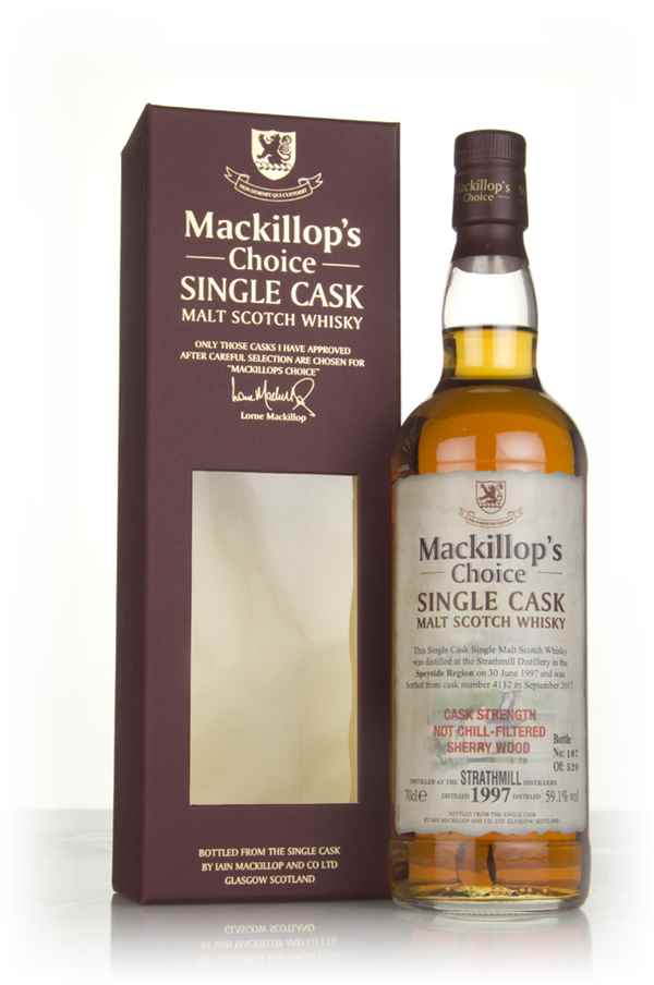 Strathmill 20 Year Old 1997 (cask 4112) - Mackillop's Choice