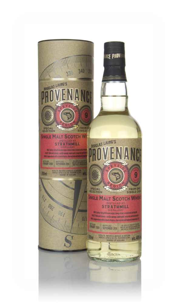 Strathmill 9 Year Old 2009 (cask 12811) - Provenance (Douglas Laing)