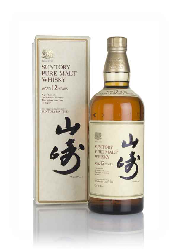 Suntory 12 Year Old Pure Malt - 1980s