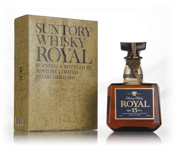 Suntory Royal Japanese Whisky - 1980s (Boxed)