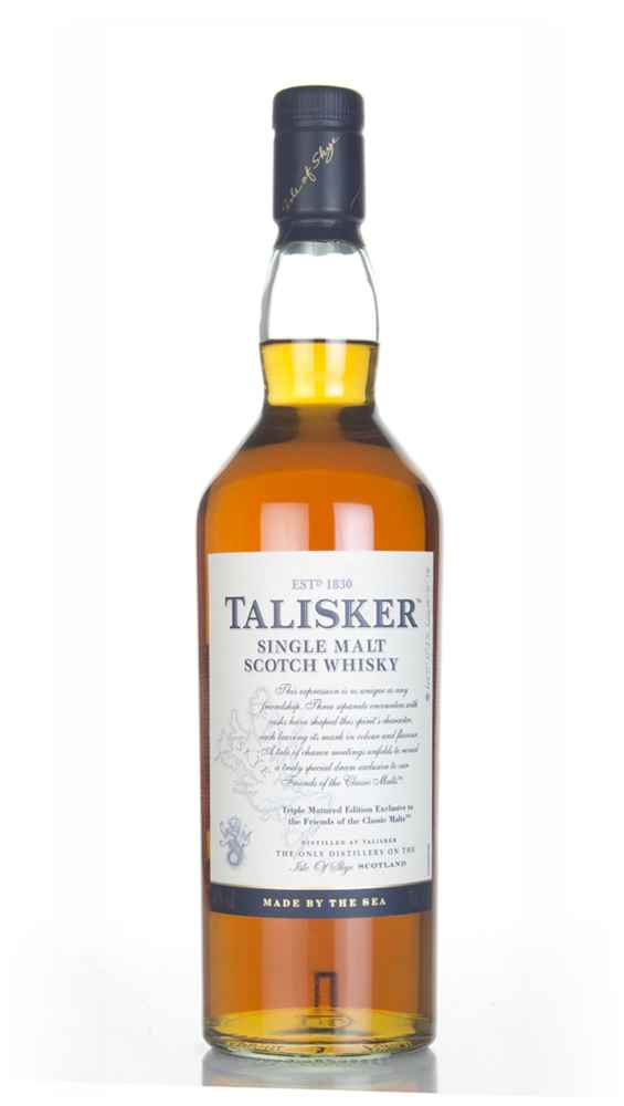 Talisker Triple Matured - Friends of the Classic Malts