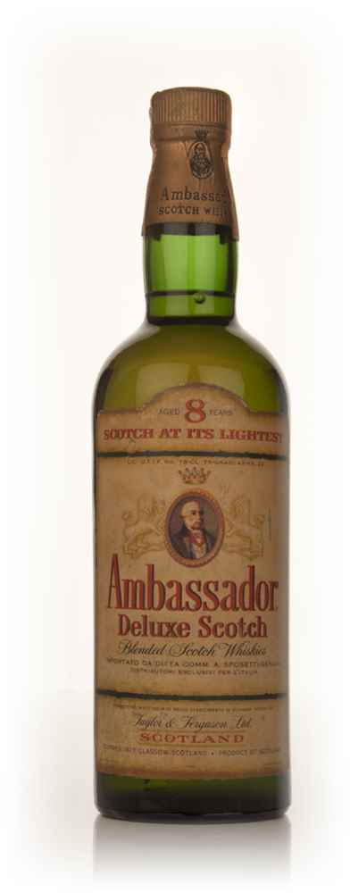 Ambassador 8 Year Old Blended Scotch Whisky - 1960s