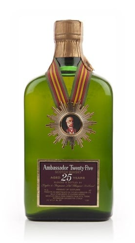 Ambassador 25 Year Old Blended Scotch - 1960s