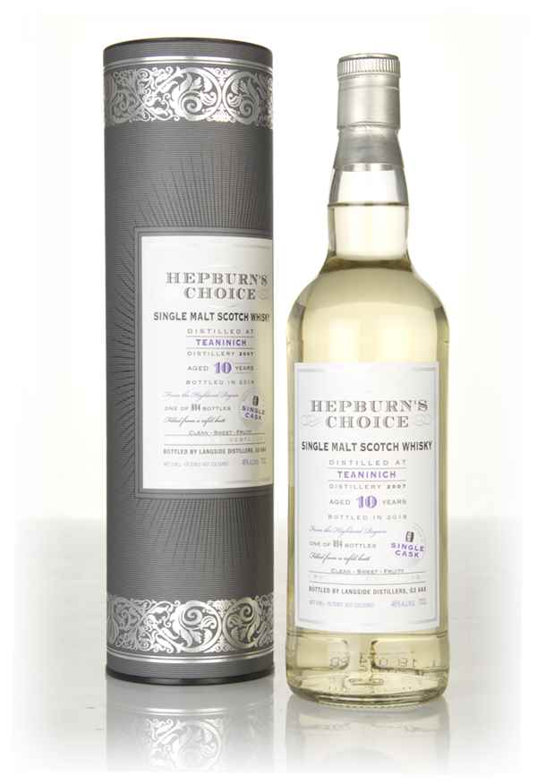 Teaninich 10 Year Old 2007  - Hepburn's Choice (Langside)