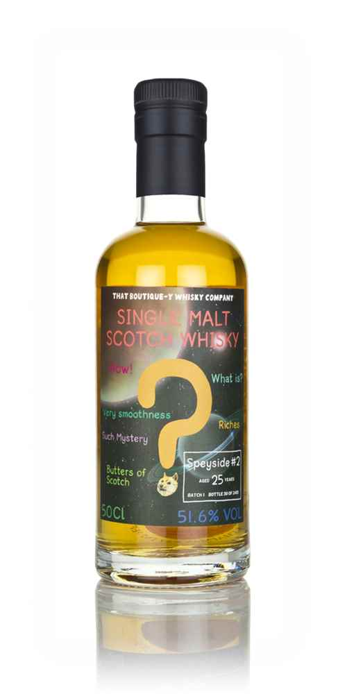 Speyside #2 25 Year Old (That Boutique-y Whisky Company)