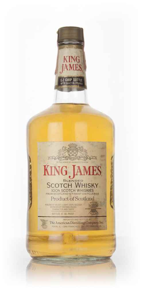 King James Blended Scotch - 1960s