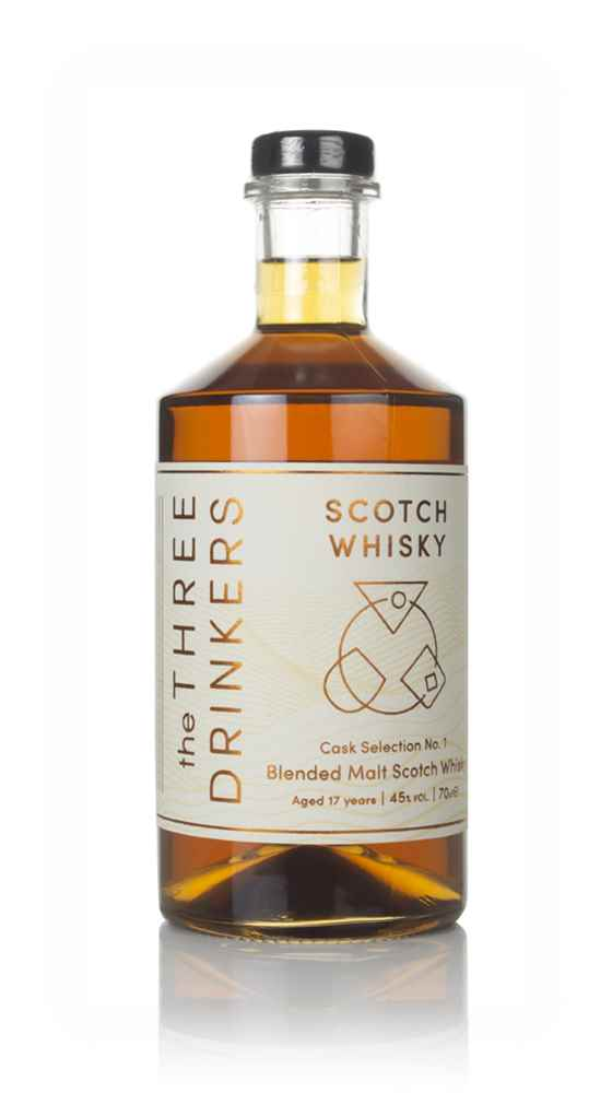 The Three Drinkers Scotch Whisky 17 Year Old - Cask Selection No. 1